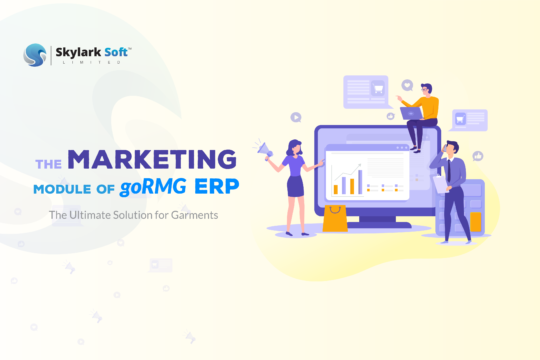 garments erp system marketing of gormg erp